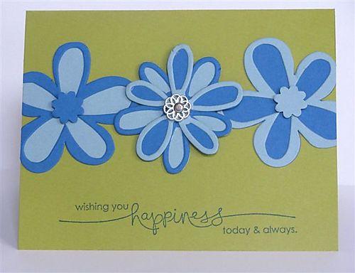 Big Shot Build A Flower Card