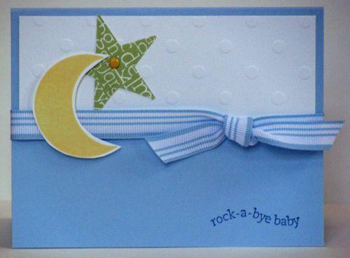 Nursery Necessities Moon Star Striped