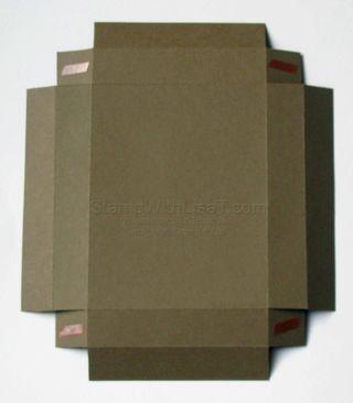 A4 Box Flaps Sticky