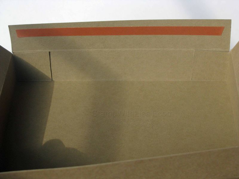 A4 Box Side Flaps In