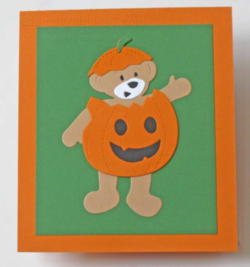 Halloween Build a Bear Pumpkin