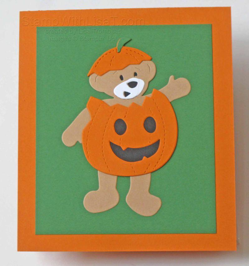 Halloween Build a Bear Pumpkin
