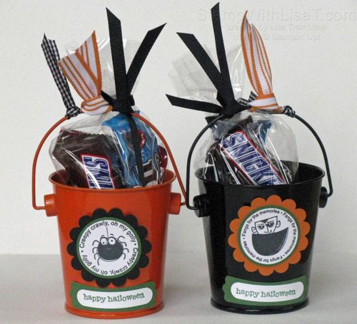 Halloween Pail Treats