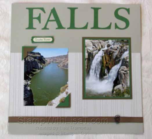 Scrapbook Falls Right