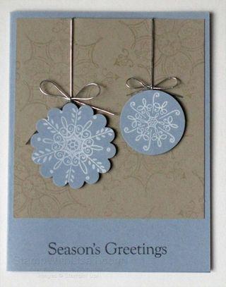 Serene Snowflakes Ornament